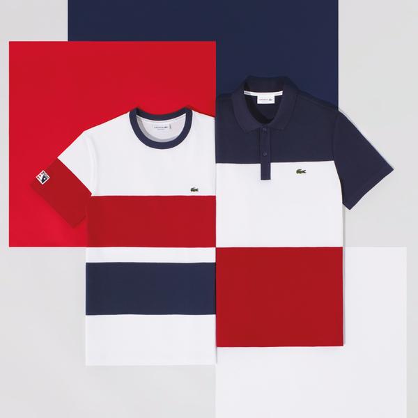 Lacoste é famosa pela sua icônica camisa pólo, disponível em ampla  variedade de cores a cada temporada  as lojas oferecem peças clássicas e  esportivas para ... 879d2a6384